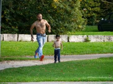 Wenn der Vater mit dem Sohne (c) Carola Peters